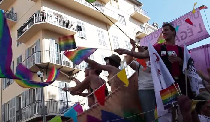 Nice : 5.000 personnes à la Pink Parade pour réclamer l'égalité pour les homosexuels (VIDEO)