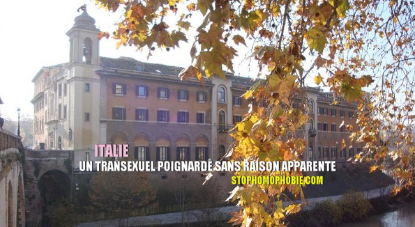 Milan : un transexuel agressé pour d'obscures raisons