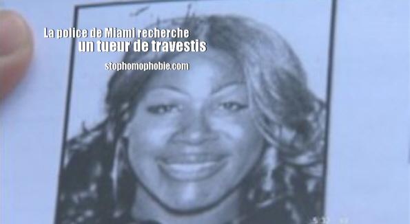 Exclusif : La police de Miami recherche un tueur de travestis !
