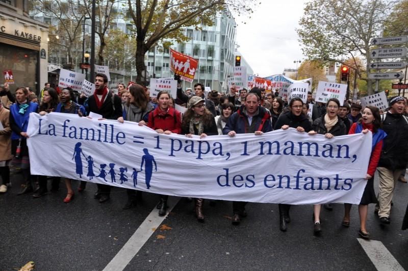 Civitas contre-attaque pour la manif du 13 Janvier en défaveur du mariage pour tous