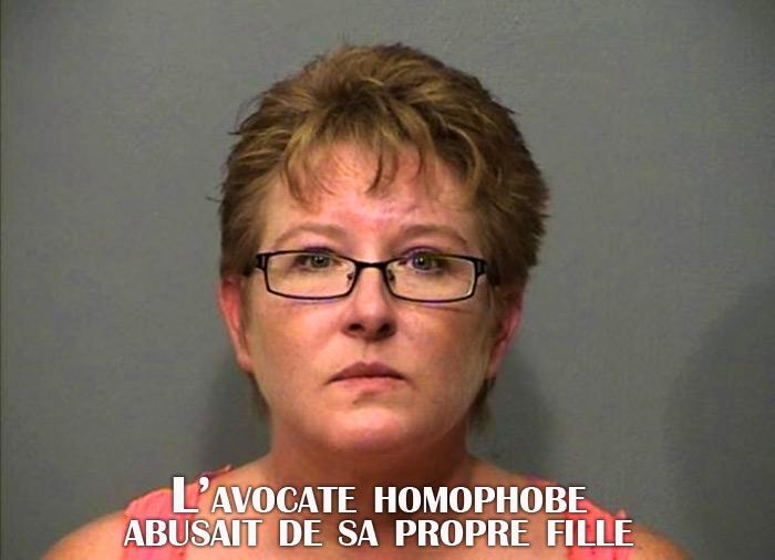 L'avocate homophobe abusait de sa propre fille