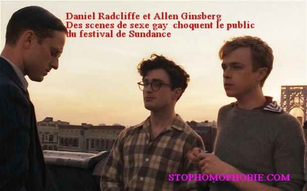 Daniel Radcliffe: ses scènes de sexe gay choquent le public du festival de Sundance