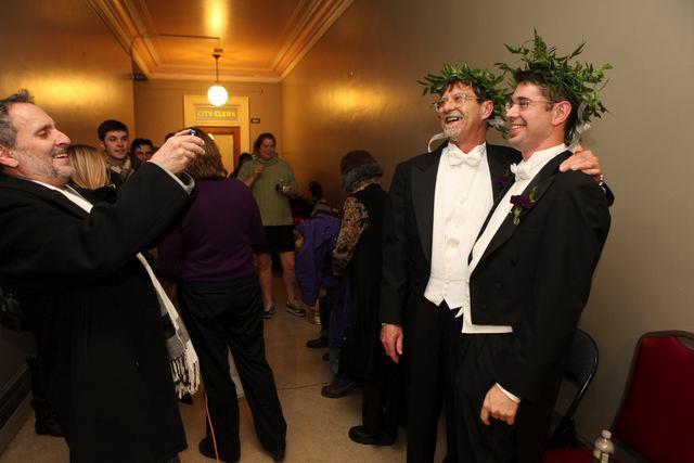 Etats-Unis : Premiers mariages homosexuels dans l'Etat du Maine