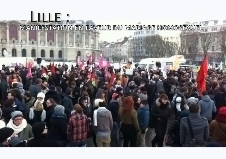 Lille : les manifestants en colère
