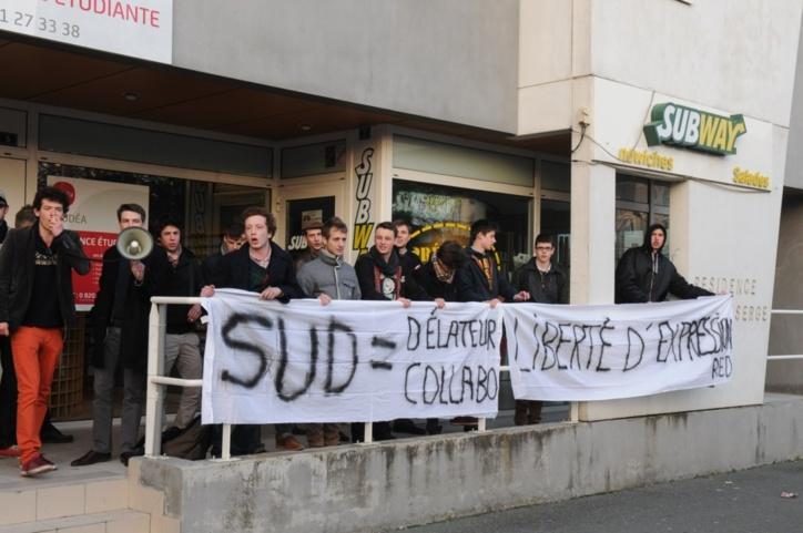 Le gérant du Subway Saint-Serge d'Angers a aussi ses défenseurs