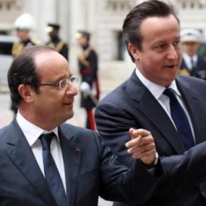 Europe Hollande constate sa proximité avec Cameron... sur le mariage gay