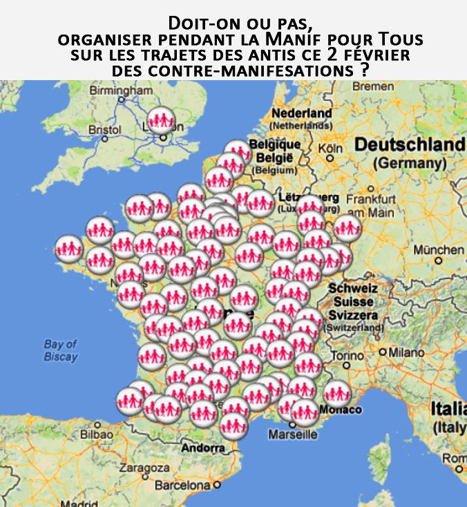 Manif des antis ce 2 février : doit-on ou pas s'organiser une contre-mobilisation?