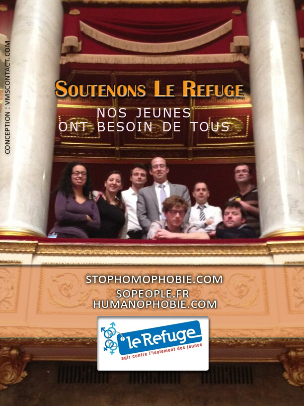 Soutenons ensemble le refuge : Nos jeunes en dangers