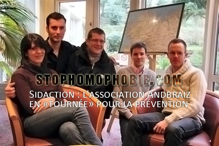 Sidaction : l'association Andbraiz en «tournée» pour la prévention
