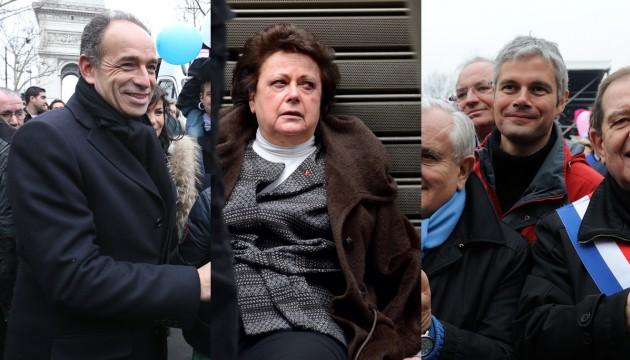 Manif pour tous : Boutin, Wauquiez et Copé, les provocateurs de la République
