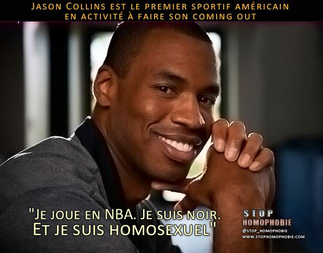 """""""Je joue en NBA. Je suis noir. Et je suis homosexuel"""""""