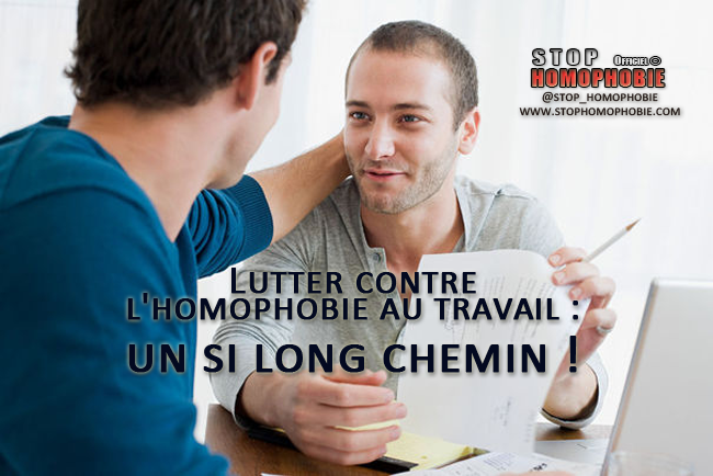 Lutter contre l'homophobie au travail : un si long chemin !