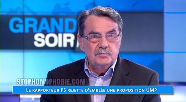 Mariage pour tous au Sénat : Le rapporteur PS rejette d'emblée une proposition UMP