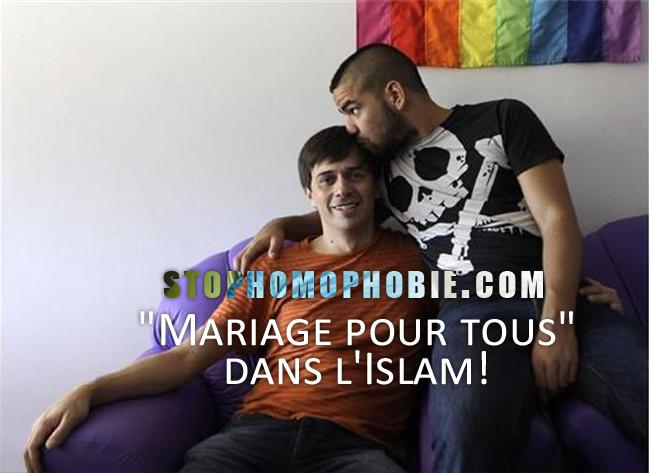 mariage pour tous dans l islam. Black Bedroom Furniture Sets. Home Design Ideas