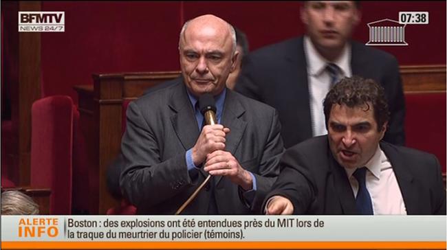 Trois députés UMP sanctionnés pour un incident sur le mariage gay