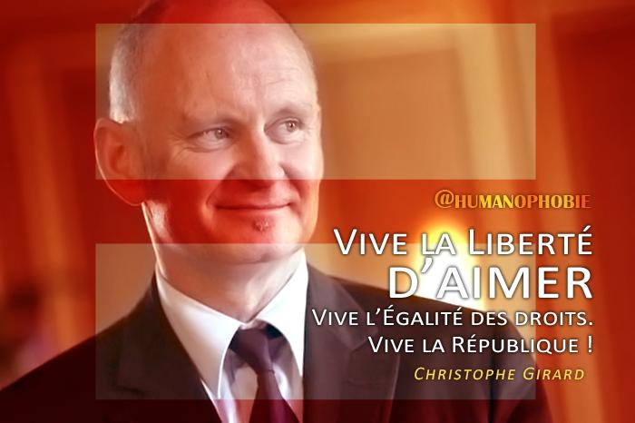 Christophe Girard : Mon intervention devant les associations du Printemps des Assoces LGBT