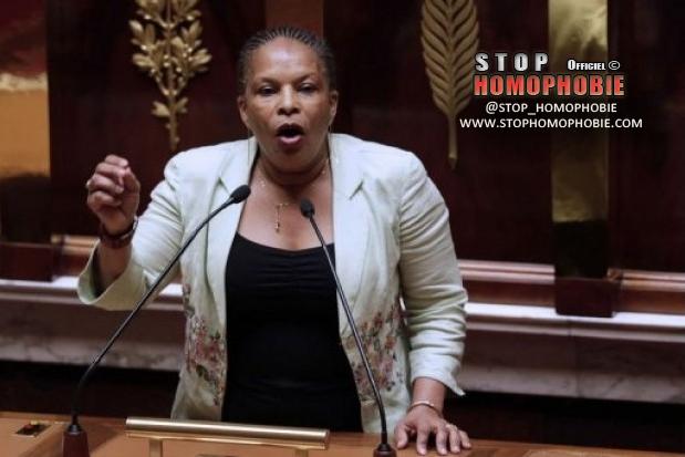 """Mariage gay : Taubira ouvre le débat à l'Assemblée au son du """"temps des cerises"""""""