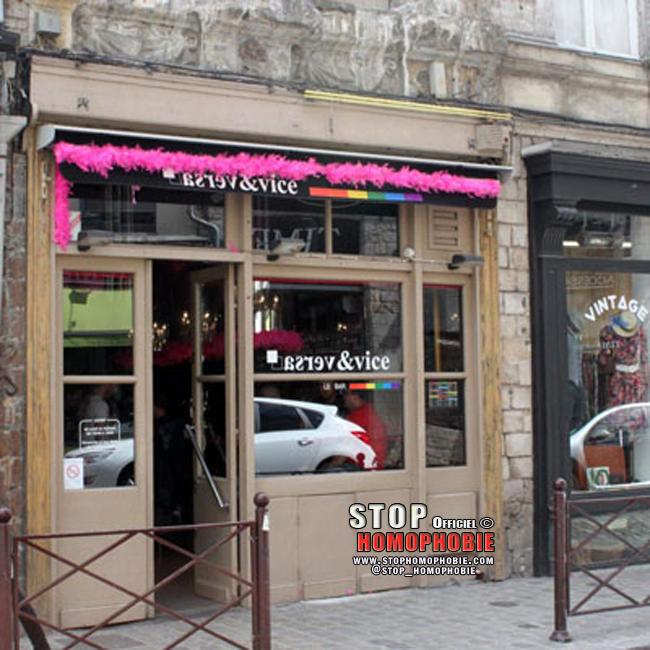 Un bar gay mis à sac par des skinheads à Lille ! Merci à qui??!!