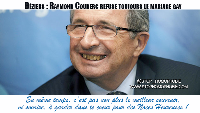 Béziers : Raymond Couderc refuse toujours le mariage gay