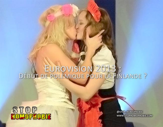 Eurovision 2013 : Début de polémique pour la Finlande ?