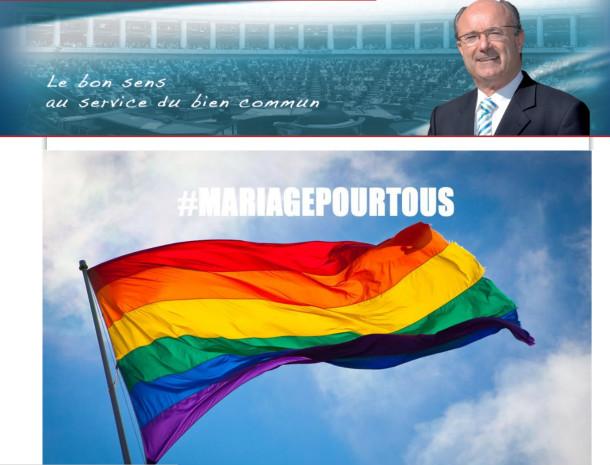 Le site de Jacques Bompard piraté par les gentils militants LGBT
