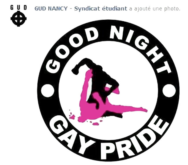 L'inter-LGBT porte plainte contre le GUD de Nancy