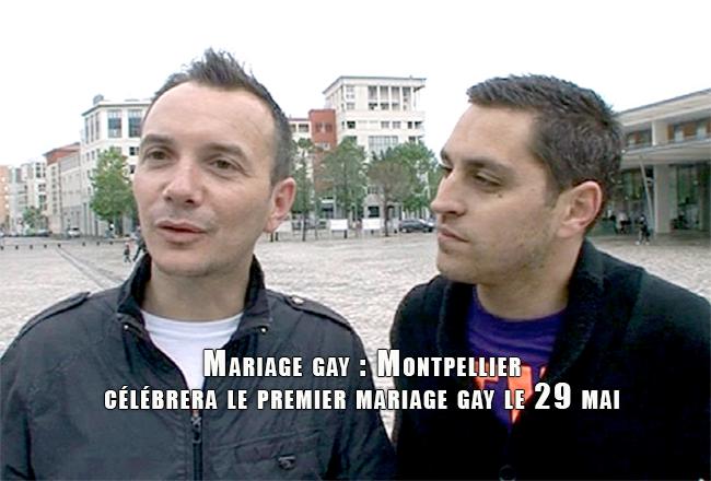 Mariage gay : Montpellier célébrera le premier mariage gay le 29 mai
