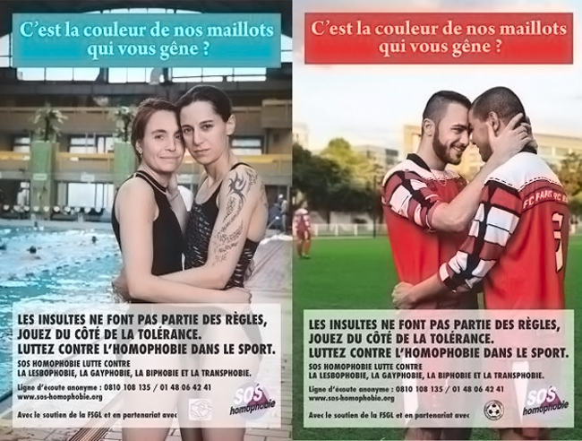 SOS Homophobie : Participez au concours de slogans contre l'homophobie !