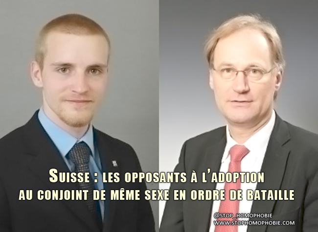 Suisse : les opposants à l'#Adoption pour les conjoints de même sexe en ordre de bataille