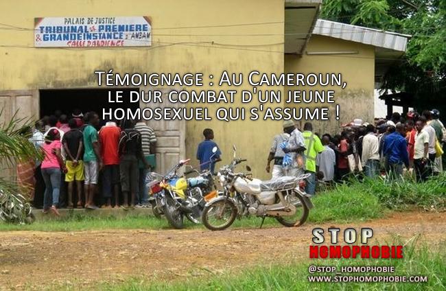 Témoignage : Au Cameroun, le dur combat d'un jeune homosexuel qui s'assume !