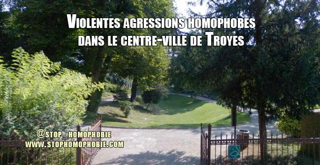 Violentes agressions homophobes dans le centre-ville de Troyes