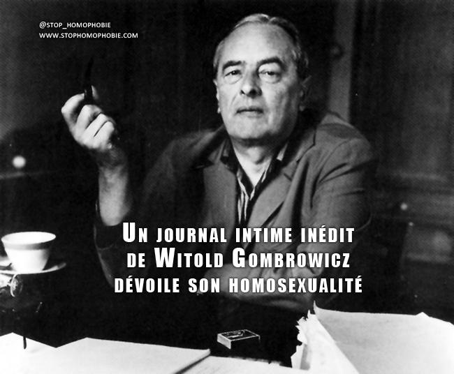 Littérature : Un journal intime inédit de Witold Gombrowicz dévoile son homosexualité