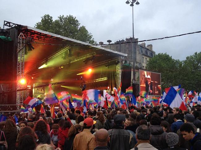 Un concert pour tous pour célébrer le mariage homo à Bastille