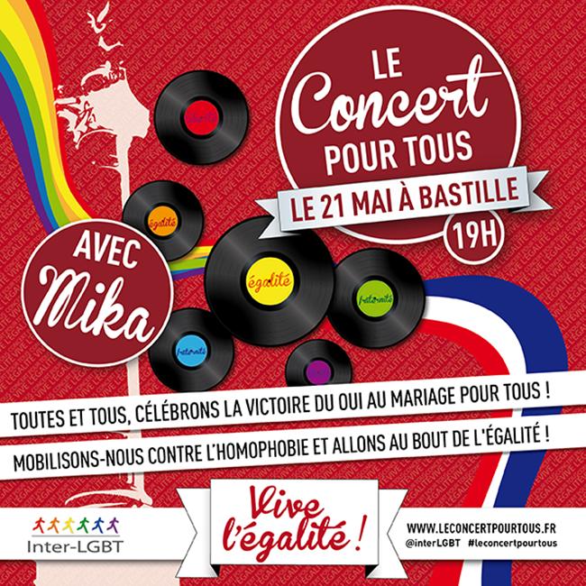 Concert Pour Tous ! Attention changement de date : pour des raisons matérielles, ce sera le 21 mai !