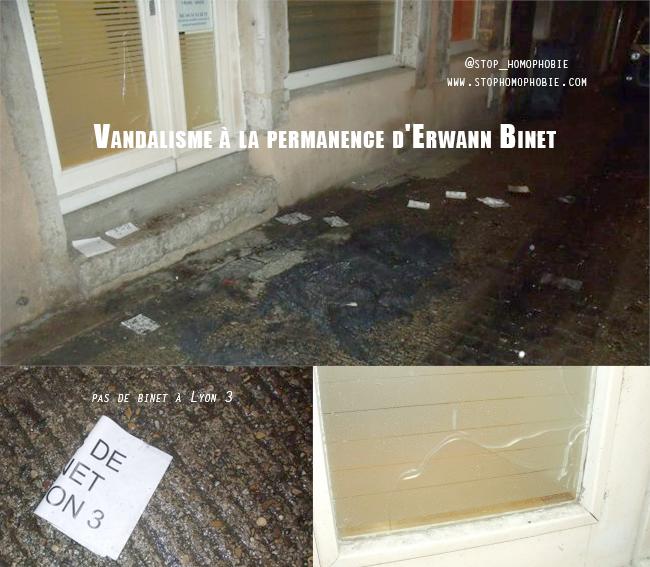 Faits-divers : La permanence d'Erwann Binet prise pour cible à Vienne (Isère)