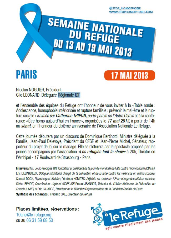 Agir contre l'isolement des jeunes : Semaine nationale du Refuge !