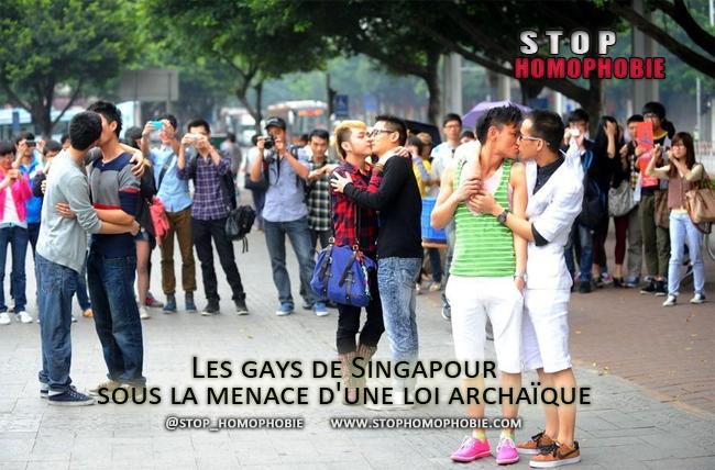 Reportage : Les gays de Singapour sous la menace d'une loi archaïque