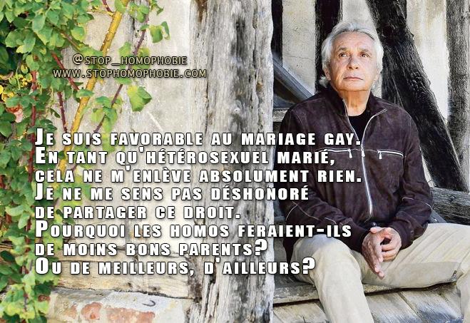 Mariage pour tous, impôts, François Hollande, Nicolas Sarkozy… Dans une interview au Figaro, Michel Sardou commente l'actualité politique