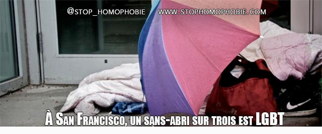 À San Francisco, un sans-abri sur trois est LGBT
