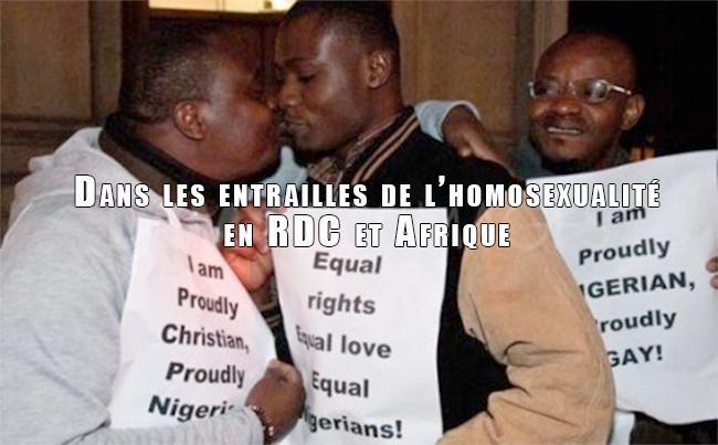 Exclusif – Dans les entrailles de l'homosexualité en RDC et Afrique