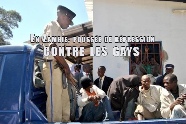Afrique : En Zambie, poussée de répression contre les gays