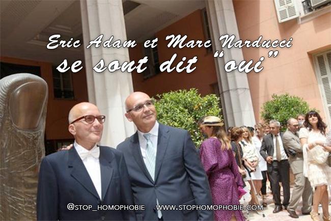 Le maire de Nice célèbre ses deux premiers mariages homosexuels