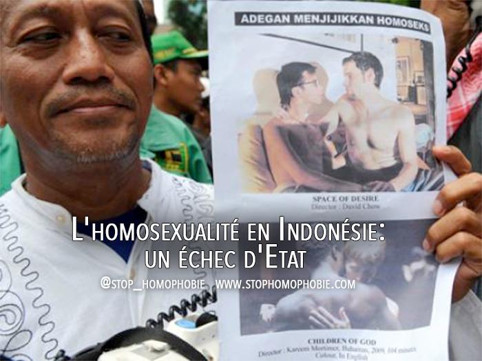 L'homosexualité en Indonésie: un échec d'Etat