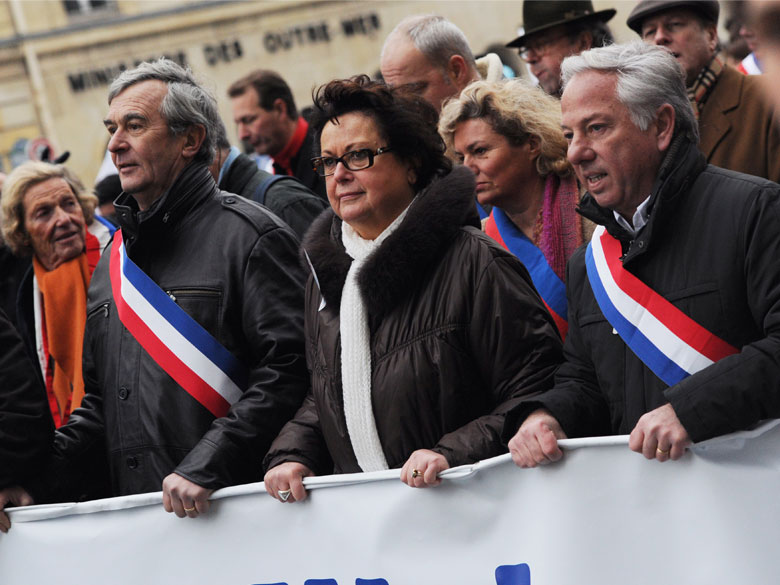 Des cadres de l'UMP appellent à sanctionner Christine Boutin après ses derniers propos sur les homosexuels