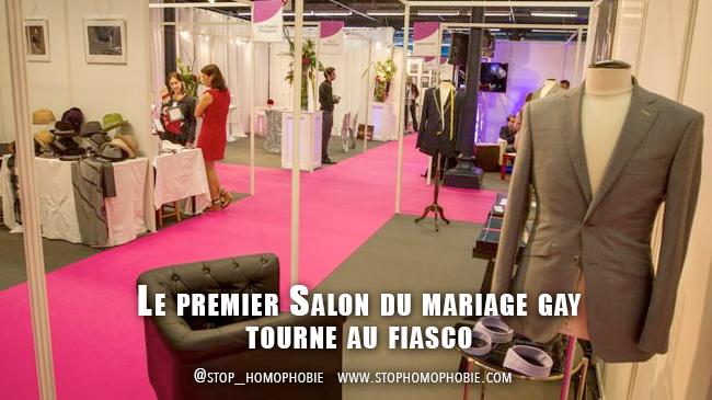Prévisible : Le premier Salon du mariage gay tourne au fiasco