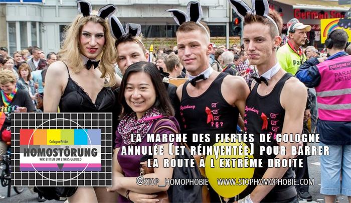 Allemagne : Pride annulée (et réinventée) pour barrer la route à l'extrême droite