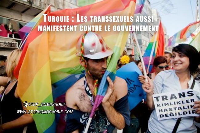 Turquie : Les transsexuels aussi manifestent contre le gouvernement