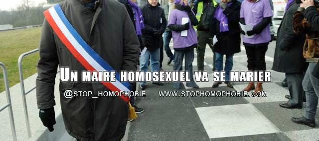 La Fosse-de-Tigné : Un maire homosexuel va se marier