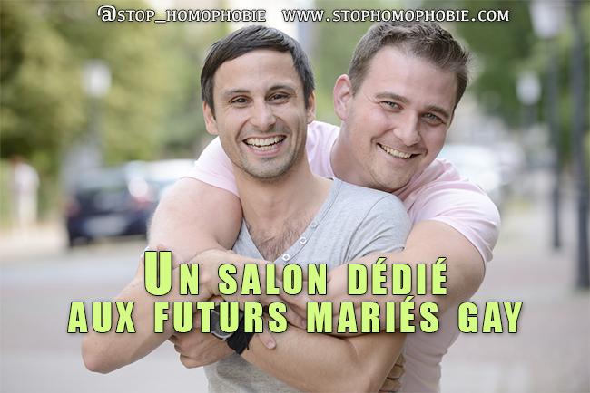 Un salon dédié aux futurs mariés gay