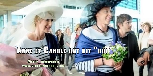 """Montpellier : Anne et Carole ont dit """"oui"""""""
